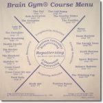Brain Gym Menu